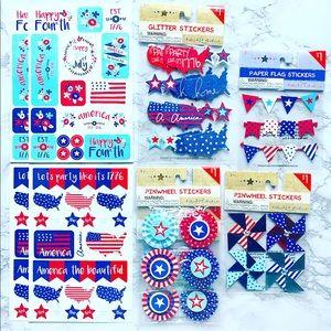 Target Fourth of July Sticker Bundle 🇺🇸